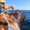 MASSIVE SAILFISH! Deep Sea Fishing with Fans!