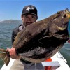 Catch and Cook on a Boat, ALONE!!!! California Halibut!