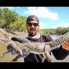 CROCODILE VS LURE! The Craziest thing I've EVER caught!