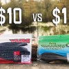 CHEAP vs EXPENSIVE Senko Fishing CHALLENGE!!! (Walmart)