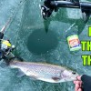 CRAZIEST Ice Fishing Day of my Life!!! (SIGHT-FISHING Through the Ice)